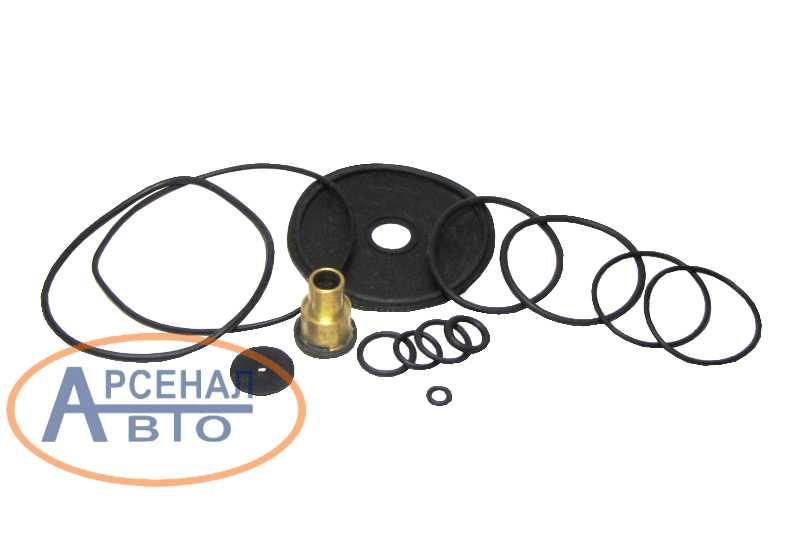 Детали ремкомплекта клапана прицепа КамАЗ