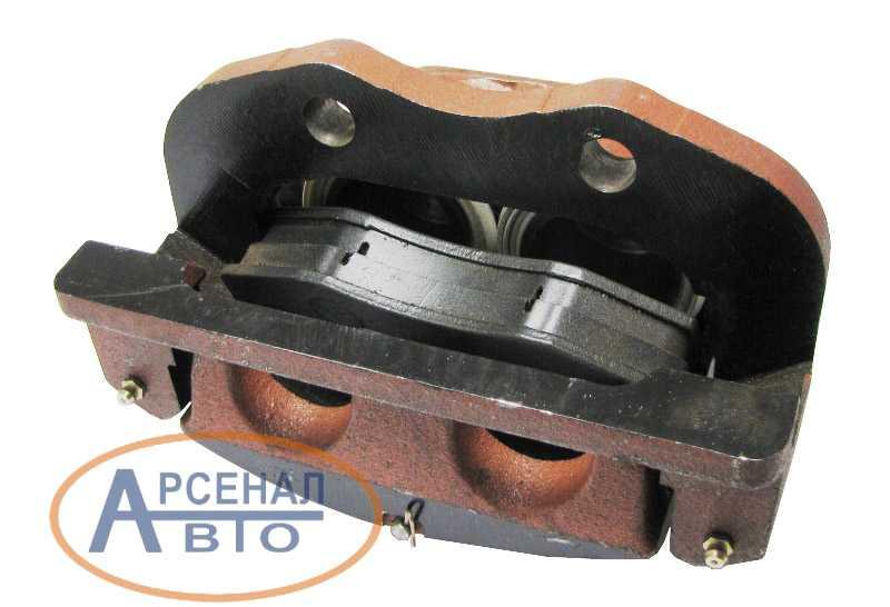 Скоба переднего тормоза автомобиля ЗиЛ-5301 левая