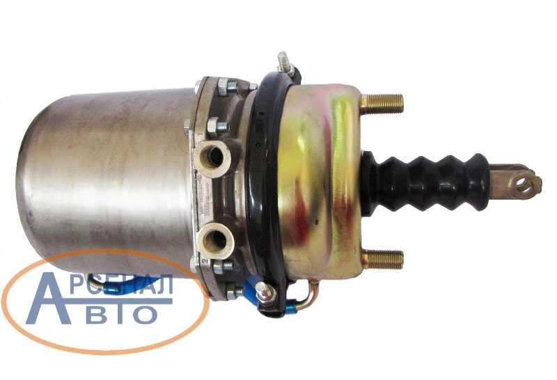 отверстия для пневмотрубок энергоаккумулятора камаз