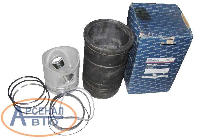 Поршнекомплект ЯМЗ-7511, 236НЕ2 общая ГБЦ