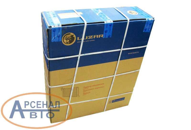 Радиатор КамАЗ-5320, 4310 LUZAR в упаковке