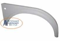 Крыло переднее МАЗ металлическое