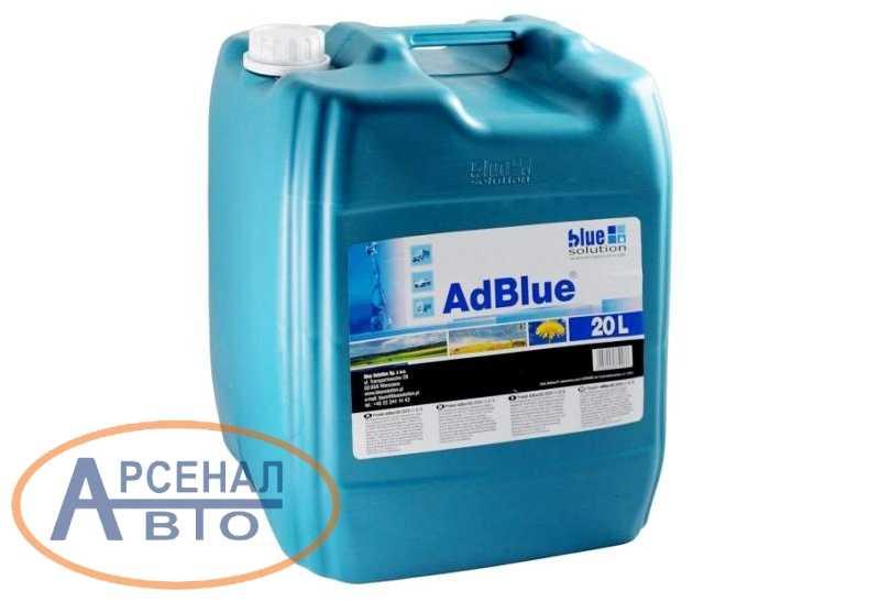 Жидкость U Blue 20л Е