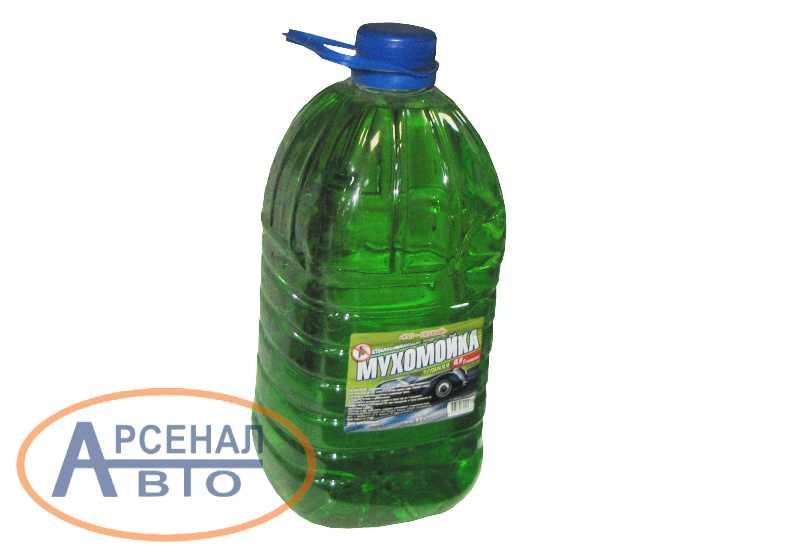 Жидкость для стеклоомывателя летняя