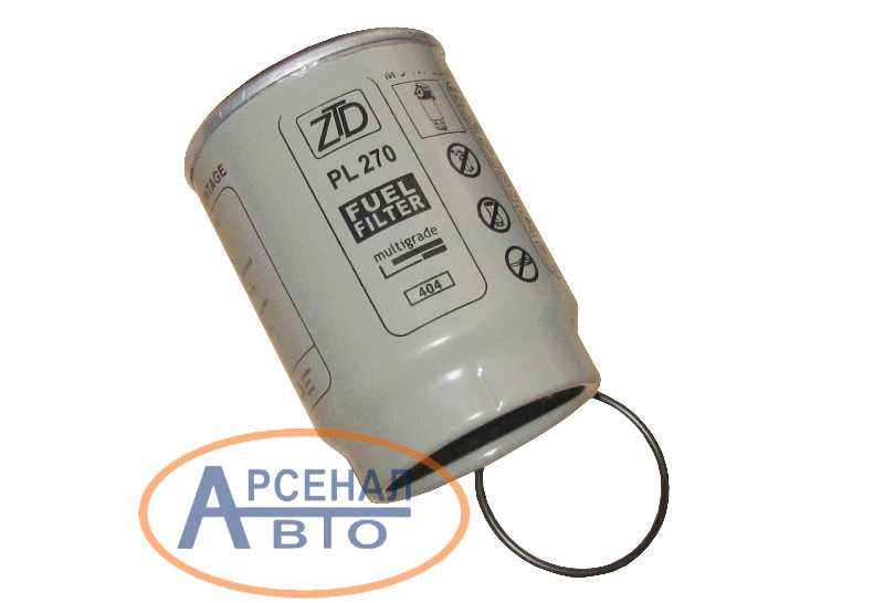 Элемент фильтрующий фильтра грубой очистки топлива КамАЗ