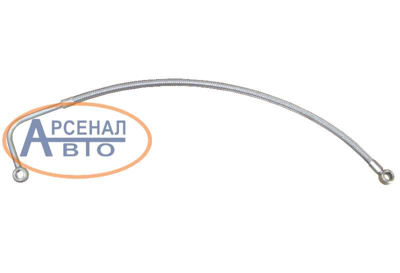 Трубка КамАЗ подвода масла к ТКР