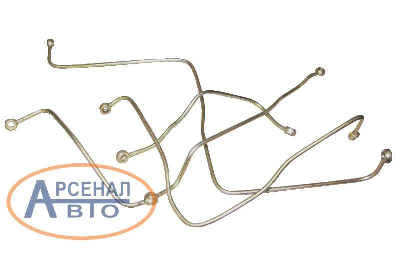 Трубки делителя воздухопроводные