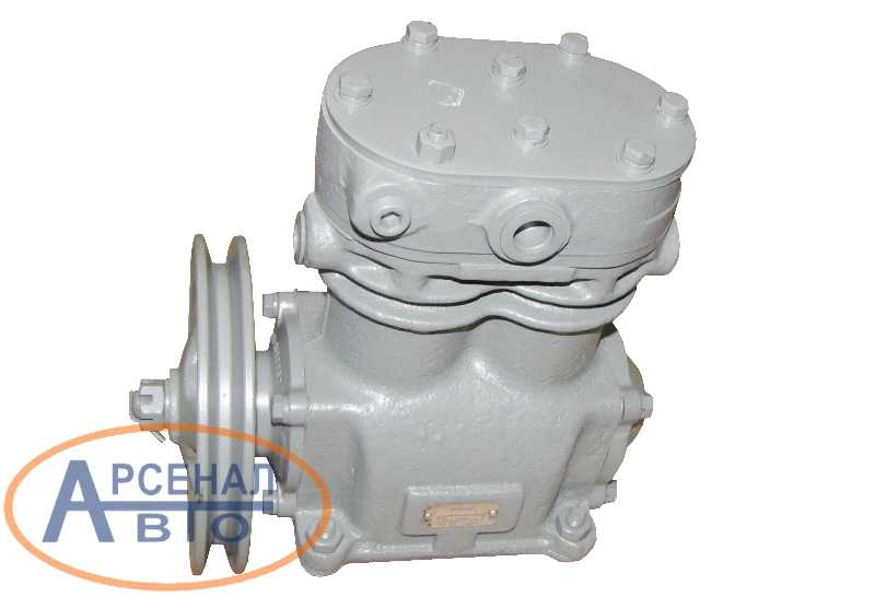 Компрессор МАЗ для двигателя ЯМЗ-7511 двухцилиндровый