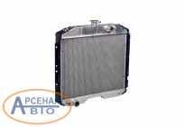 LRc0337b Радиатор охлаждения ГАЗон дв.511, 245 (2-х ряд) алюм. LUZAR
