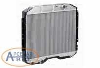 LRc0339 Радиатор охлаждения ГАЗон дв.245 ЕВРО-4 (алюм) паяный LUZAR