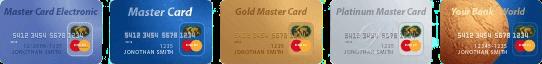 виды MasterCard