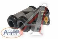 Цилиндр тормозной УРАЛ-375, 4320, 5557, 5323 в сборе MEGAPOWER 375-3501030-01M