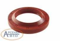 Сальник ГАЗ-53, 3307, ГАЗон Next хвостовика 55х82х10/15.5 РОСИЧЪ 51-2402052