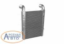 Охладитель УРАЛ-4320, 43206, Next дв.ЯМЗ 536, 02-10 наддув.воздуха алюминиевый 4320Б5-1172010 (LUZAR) LRIC1236